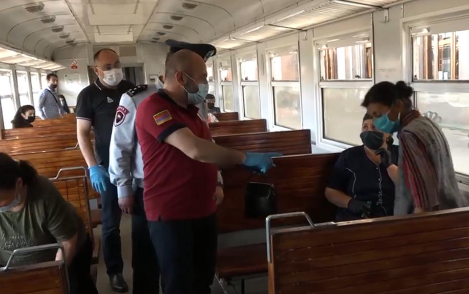 Photo of На железнодорожной станции «Ереван» был осуществлен повторный визит и мониторинг