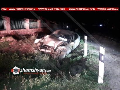 Photo of Խոշոր ավտովթար Գեղարքունիքի մարզում. 24-ամյա վարորդը Mercedes-ով կոտրել է էլեկտրասյունը և տապալել այն. կան վիրավորներ