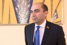 Photo of «Азербайджанская военно-политическая элита сама себя загнала в угол и оказалась в глупой ситуации». Руководитель парламентской фракции «Просвещенна Армения» Э. Марукян