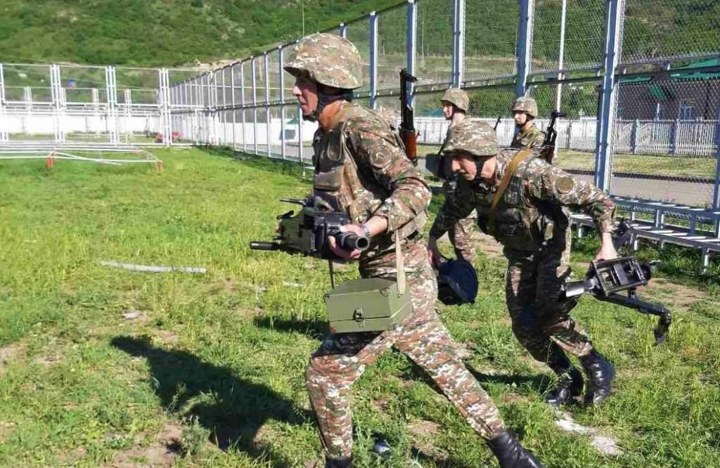 Photo of Նռնականետային դասակների զինծառայողները մասնակցել են գործնական պարապմունքների