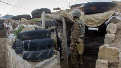 Photo of Ադրբեջանի պաշտպանության նախարարն այցելում է առաջնագծի տարբեր հատվածներ. Արցախը հետևում է