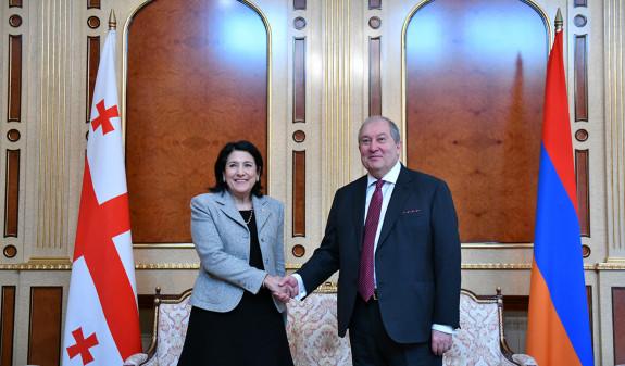 Photo of Համոզված եմ, որ համատեղ ջանքերով կկարողանանք հաղթահարել այս փորձությունը ևս. նախագահ Արմեն Սարգսյանը շնորհավորական ուղերձ է հղել Սալոմե Զուրաբիշվիլիին