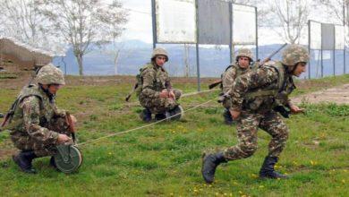 Photo of Զորամասերից մեկում անցկացվել է մարտական հրաձգությամբ վաշտային մարտավարական զորավարժություն