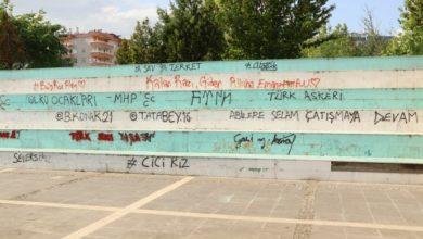 Photo of Դիարբեքիր քաղաքի զբոսայգում ռասիստական գրառումներ են արվել