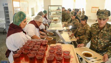 Photo of На сегодняшний день 74% состава военнослужащих срочной службы Вооруженных сил Армении перешли на новую систему питания, с 8 мая эта цифра достигнет 90%. Пресс-секретарь МО РА