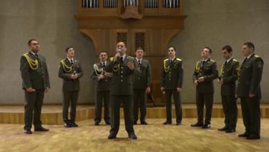 Photo of «Неофициальный» концерт военного ансамбля