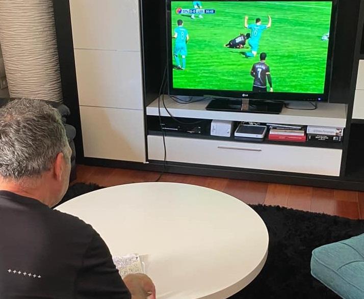 Photo of Խոակին Կապառոսը Սևիլիայից հետևում է Շիրակ-Լոռի խաղին