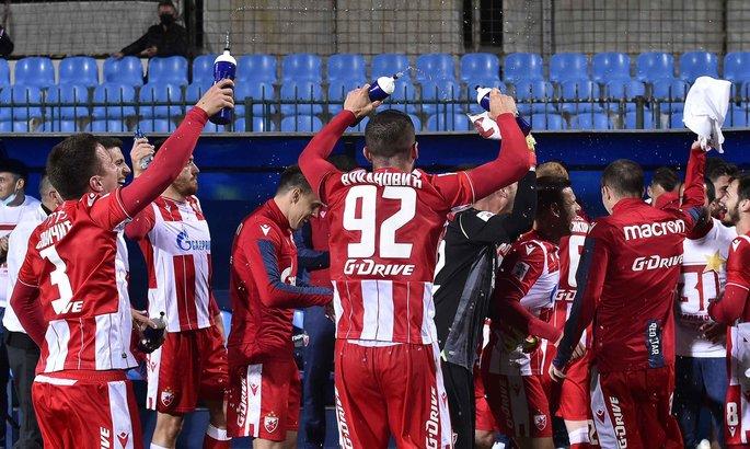 Photo of Մրցաշրջանի վերսկսումից հետո առաջին իսկ խաղում Ցրվենա Զվեզդան դարձավ Սերբիայի առաջնության չեմպիոն