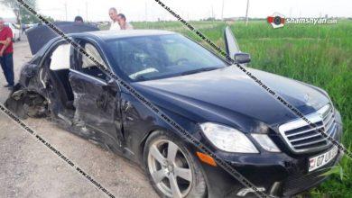 Photo of Ողբերգական ավտովթար Արարատի մարզում. բախվել են Mercedes-ն ու Opel-ը. կա 1 զոհ, 3 վիրավոր