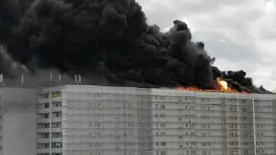 Photo of На севере Берлина произошел крупный пожар