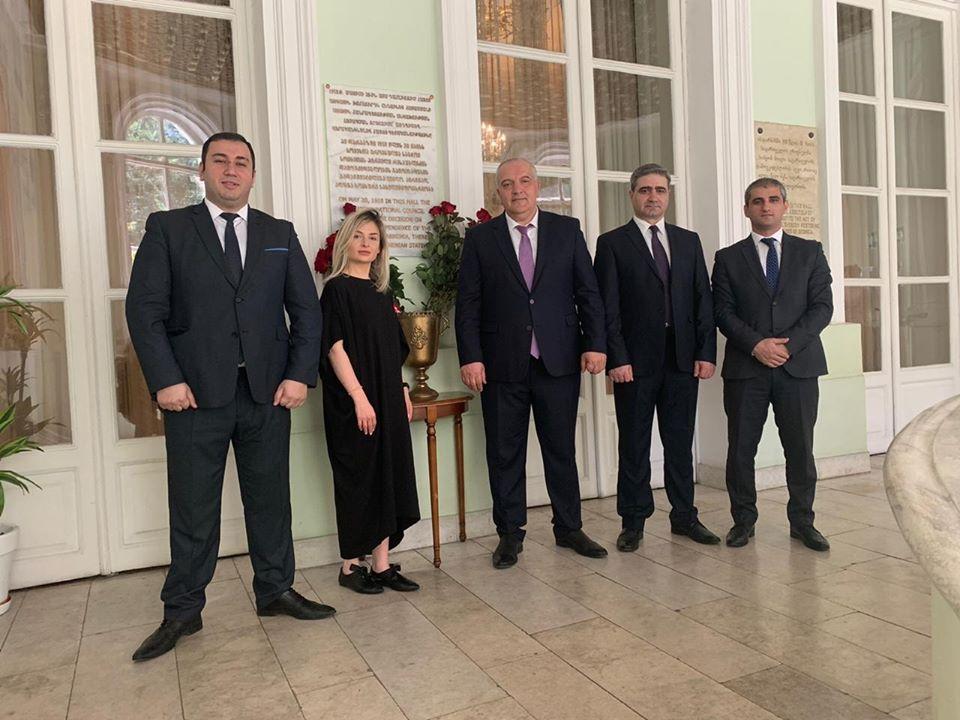 Photo of ՀՀ դեսպանության դիվանագետները այցելել են Վորոնցովյան պալատ
