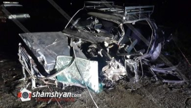 Photo of Խոշոր ու ողբերգական ավտովթար Գեղարքունիքի մարզում. ոստիկանության ծառայողը հիվանդանոցի ճանապարհին մահացել է. կա վիրավոր