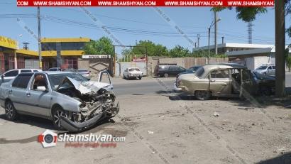 Photo of Խոշոր ավտովթար Երևանում. բախվել են ГАЗ 2121-ն ու Volkswagen-ը. կա վիրավոր, օպերատիվ են գործել փրկարարները, բժիշկներն ու ճանապարհային ոստիկանները
