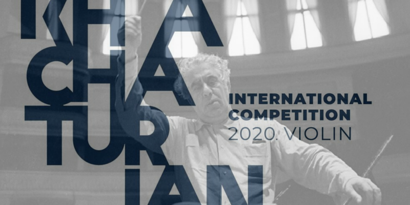 Photo of Հունիսի 6-ին կմեկնարկի Խաչատրյանի անվան միջազգային մրցույթը՝ ջութակ մասնագիտությամբ