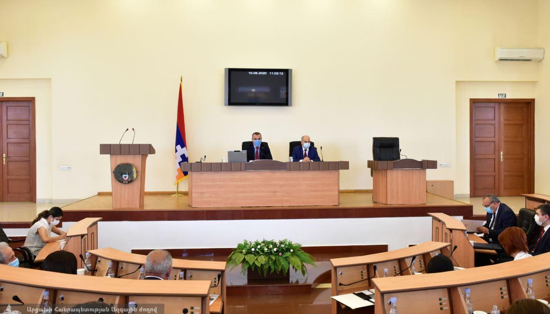 Photo of Արցախի Խորհրդարանի քննարկմանն է ներկայացվել 2019թ. բյուջեի կատարողականը