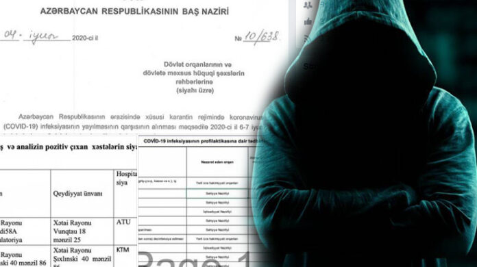 Photo of Հայ հաքերները հրապարակել են ադրբեջանցի վարակակիրների տվյալները