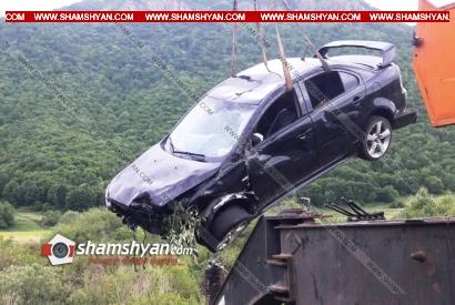 Photo of Կոտայքի մարզում 49-ամյա վարորդը Mitsubishi Lancer-ով բախվել է բետոնե արգելապատնեշներին և հայտնվել ձորակում. կա վիրավոր