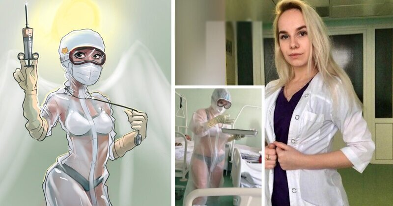 Photo of «Медсестра в купальнике» подписала контракт с брендом спортивной одежды