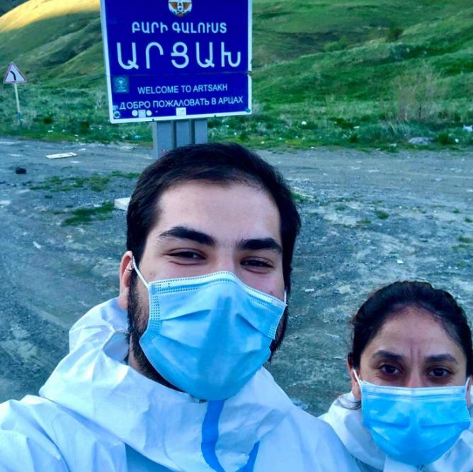 Photo of Ապագա բժիշկը 4 ամիս տուն չի գնացել. կամավորագրվել է, վարակվել կորոնավիրուսով, բուժվել, իսկ մայրը տեղյակ չի եղել