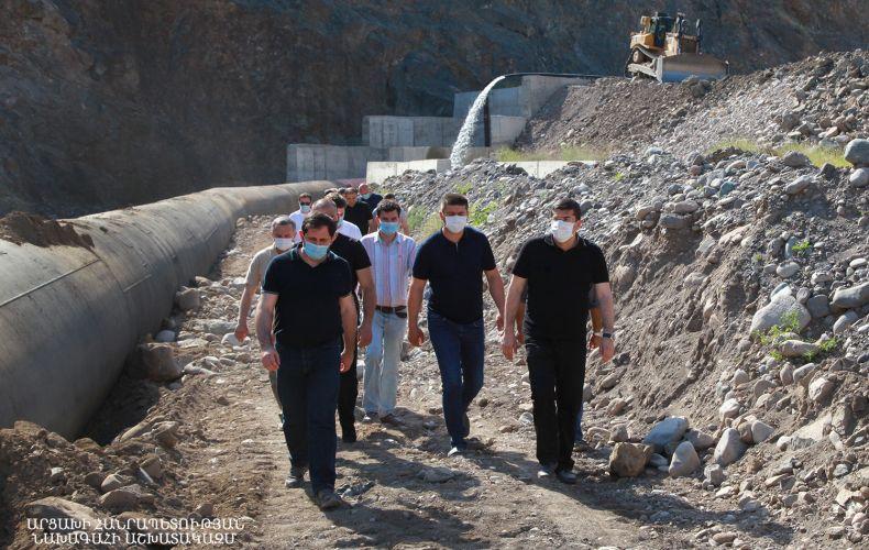Photo of Արայիկ Հարությունյանի գլխավորած պատվիրակությունը այցելել է Քաշաթաղի շրջանի հարավային թև