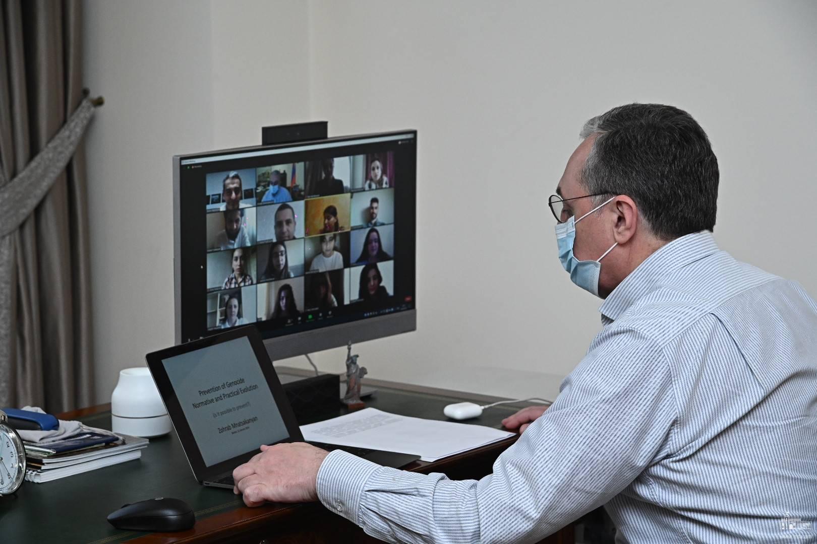 Photo of ԱԳ նախարարը ներկայացրել է ցեղասպանությունների կանխարգելման օրակարգի առաջմղման ուղղությամբ հայկական դիվանագիտության հետևողական քայլերը