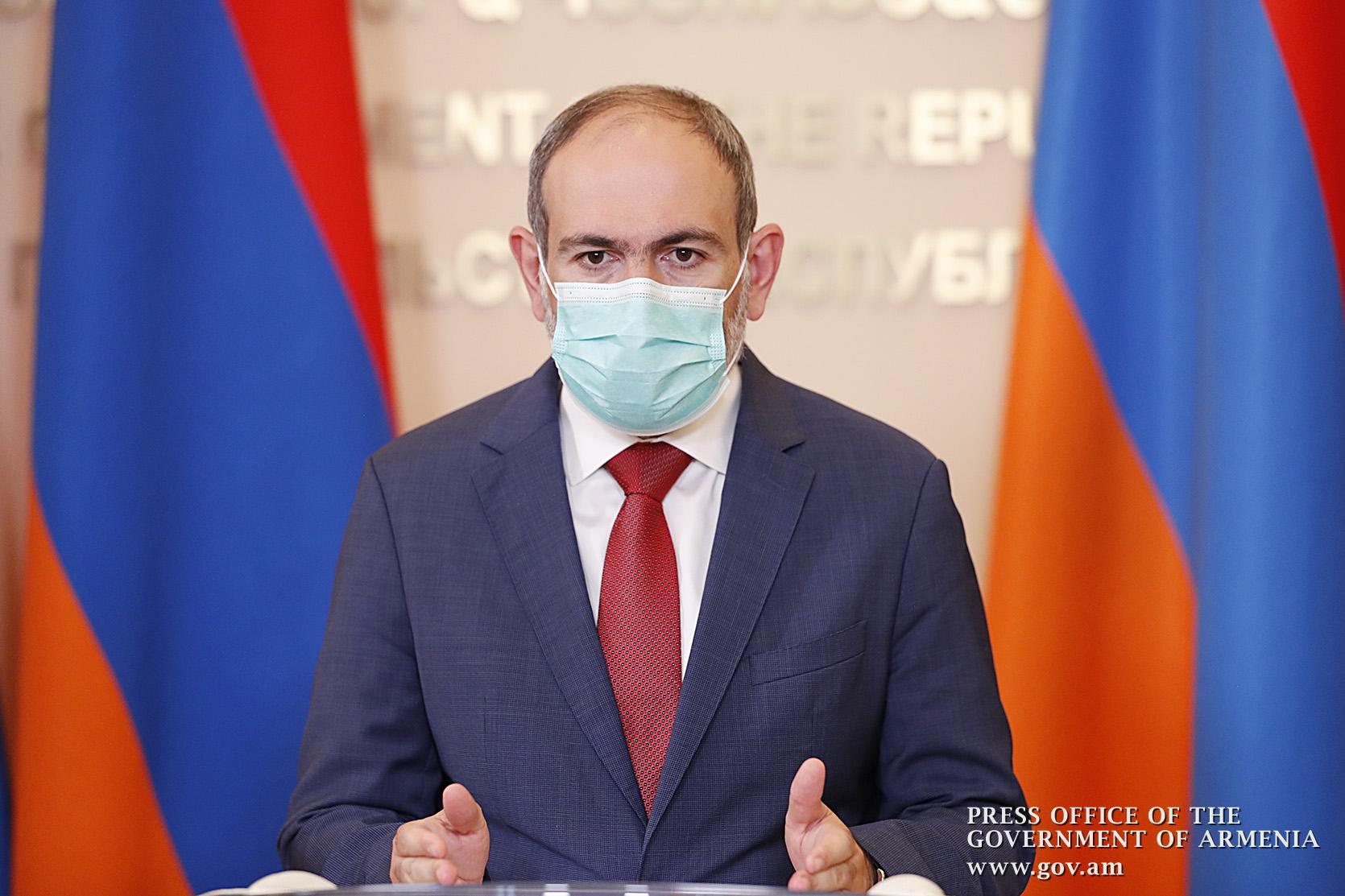 Photo of Դիմակ կրելը COVID-19-ի համաճարակը կանգնեցնելու ամենահավանական միջոցն է. վարչապետը ներկայացրել է միջազգային ուսումնասիրության արդյունքները