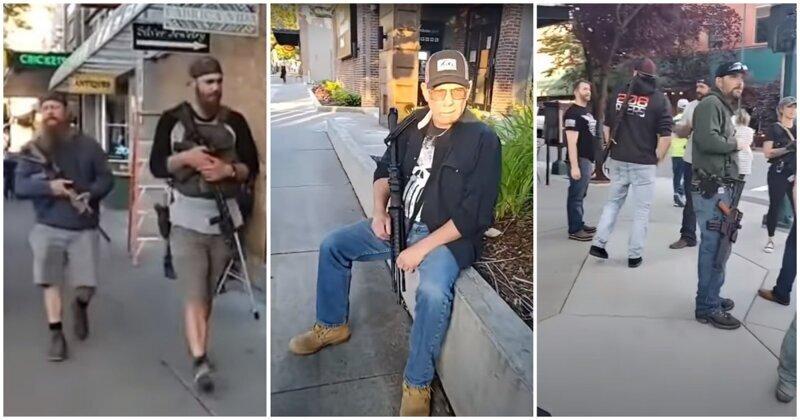 Photo of Американцы собрались в вооружённое ополчение для защиты города от беспорядков