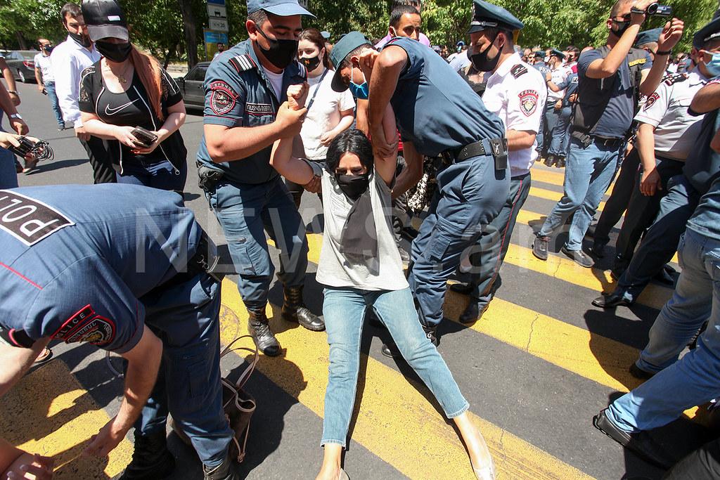 Photo of Ժամը 20։40-ի դրությամբ՝ ոստիկանության բաժին բերման է ենթարկվել 177 քաղաքացի