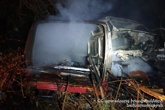 Photo of Այրվել է 3 հատ «Ford Transit» մակնիշի ավտոմեքենա
