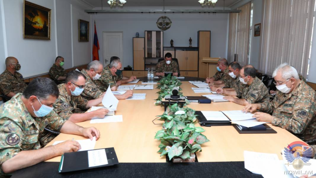 Photo of Խորհրդակցություն՝ նվիրված 2020 թ.-ի ձմեռային զորակոչի արդյունքներին ու ամառային զորակոչի խնդիրներին