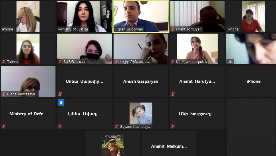 Photo of Առցանց աշխատաժողով՝ ՄԻՊ ռազմավարության շրջանակում գործարկված www.e-rights.am հարթակի վերաբերյալ
