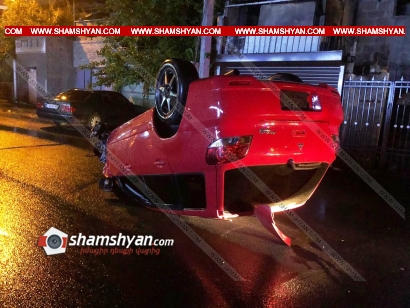 Photo of Խոշոր ավտովթար Երևանում. 30–ամյա վարորդը Mitsubishi-ով բախվել է BMW-ին և գլխիվայր շրջվել. կա վիրավոր