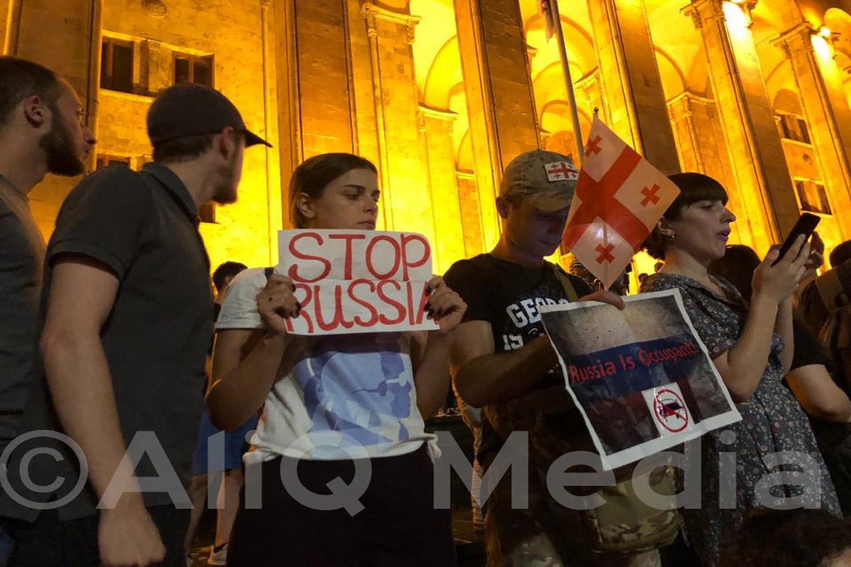 Photo of Վերհիշելով Թբիլիսիի բողոքի ակցիաները. Ի՞նչ տեղի ունեցավ 2019-ի հունիսի 20-ին