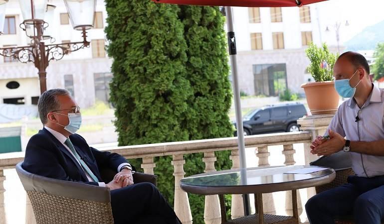 Photo of Զոհրաբ Մնացականյանի հարցազրույցը Արցախի հանրային հեռուստաընկերությանը