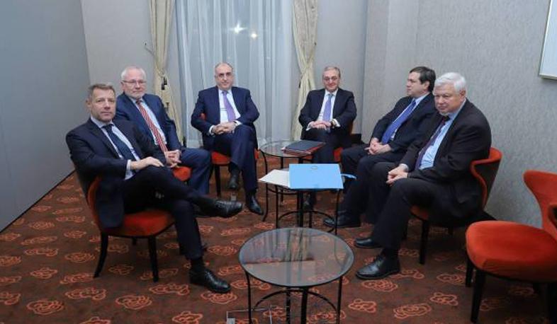 Photo of Համանախագահները ողջունում են ՀՀ և Ադրբեջանի ԱԳ նախարարների բանակցությունների պատրաստակամությունը