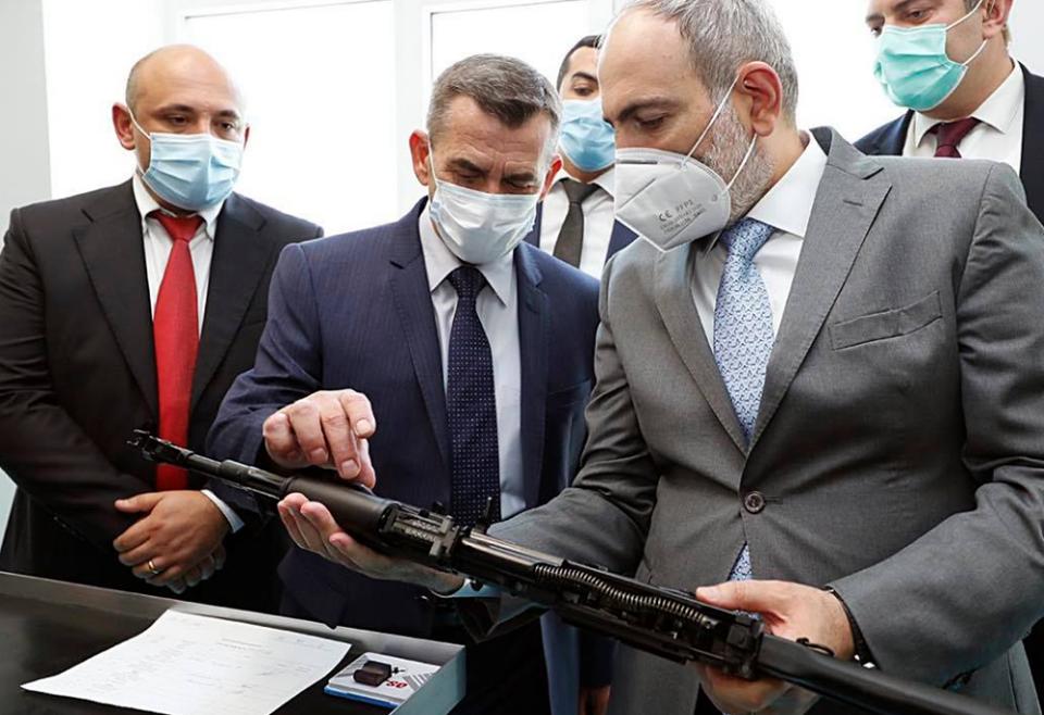 Photo of На заводе по производству автоматов Калашникова ежегодно будет производиться 50 тсч. винтовок