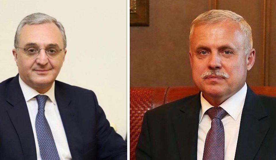 Photo of Телефонный разговор Министра иностранных дел Армении с Генеральным секретарем ОДКБ