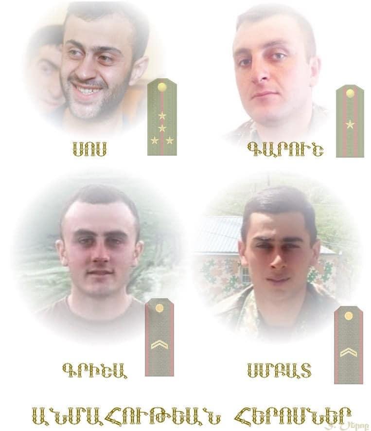 Photo of Տղաներն իրենց սուրբ արյամբ մեկ անգամ եւս սրբացրին արյունով գծված Հայոց սահմանները. Արշավիր Ղարամյան