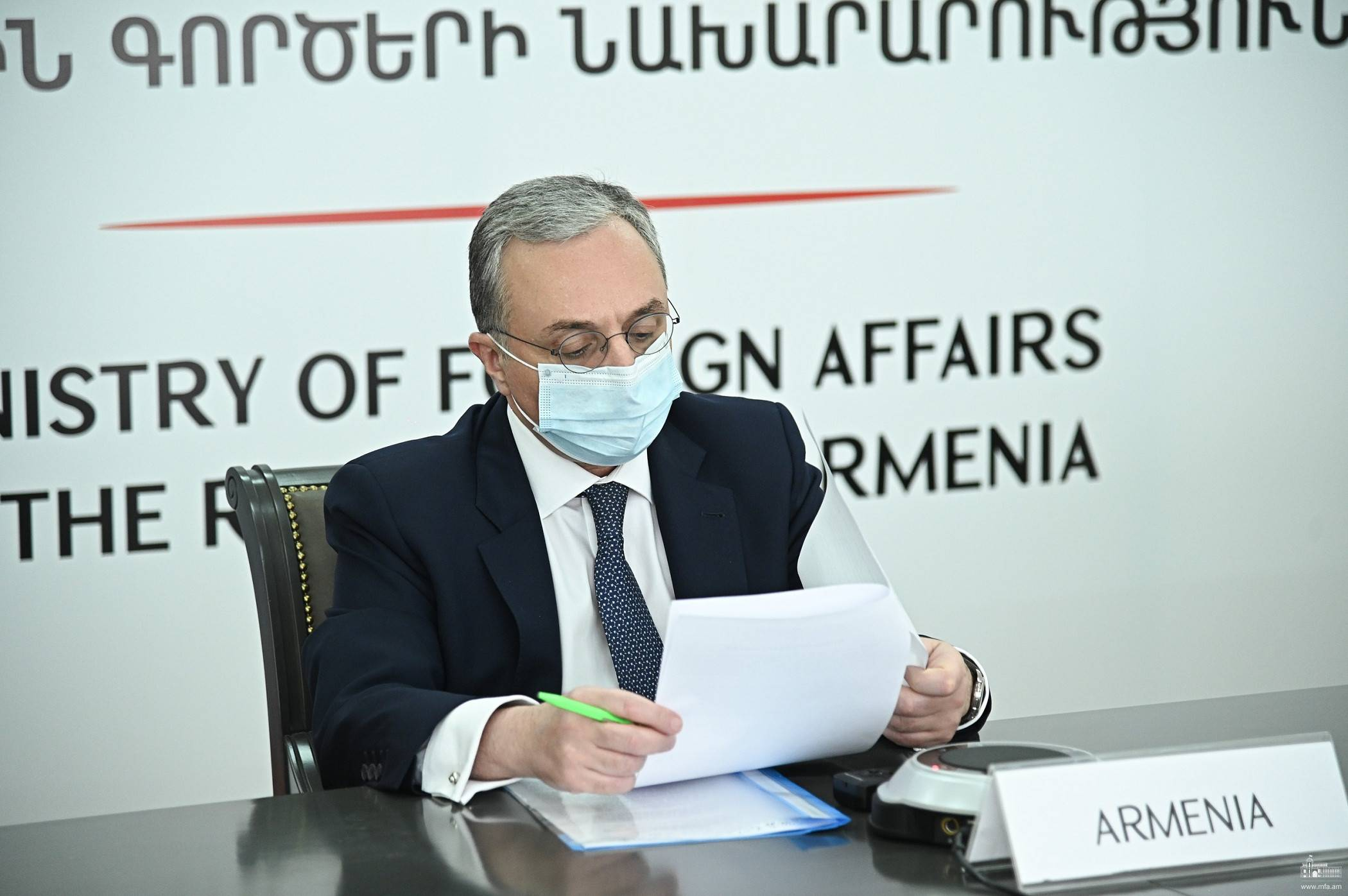 Photo of ՀՀ ԱԳ նախարար Զոհրաբ Մնացականյանը մասնակցեց Արևելյան գործընկերության նախարարական տեսաժողովին