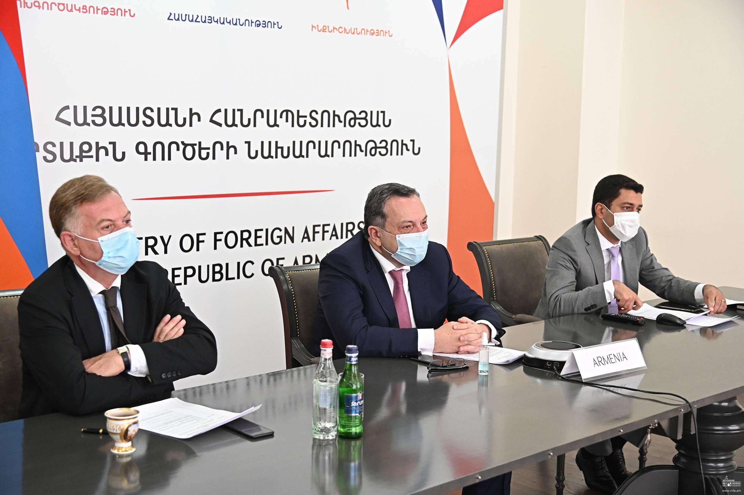 Photo of Կայացել է Հայաստան-Եվրոպայի խորհուրդ 2019-2022թթ. Գործողությունների ծրագրի Ղեկավար կոմիտեի հեռավար հանդիպումը