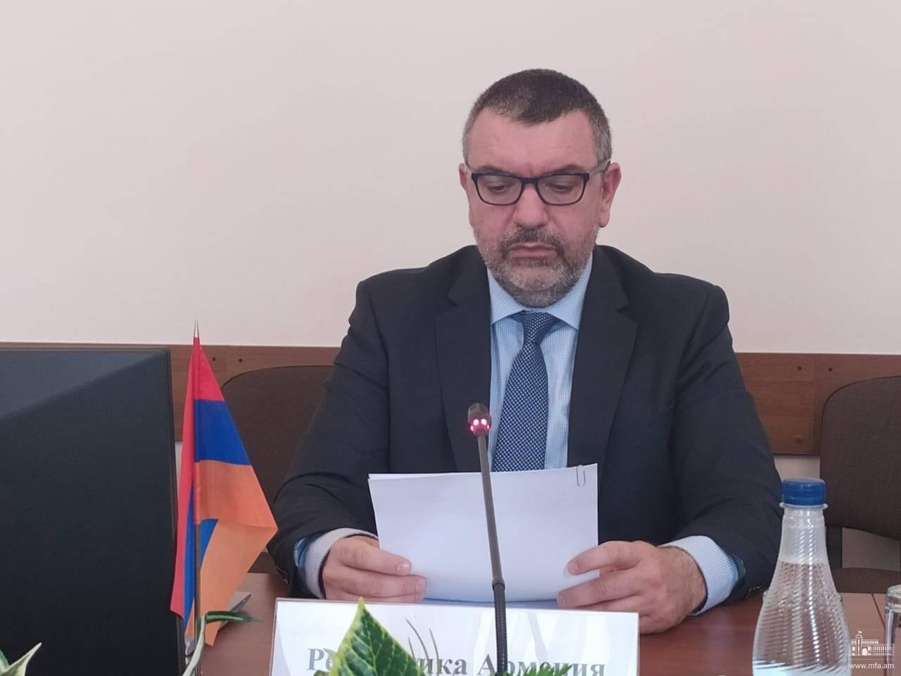 Photo of ՀԱՊԿ-ում ՀՀ մշտական ներկայացուցիչը ելույթ է ունեցել ՀԱՊԿ ՄԽ նիստում