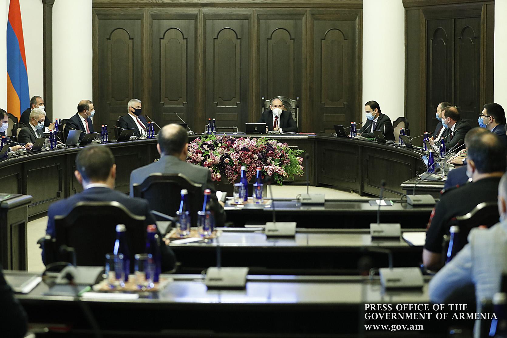 Photo of Կառավարության 2020 թվականի հուլիսի 13-ի արտահերթ նիստը