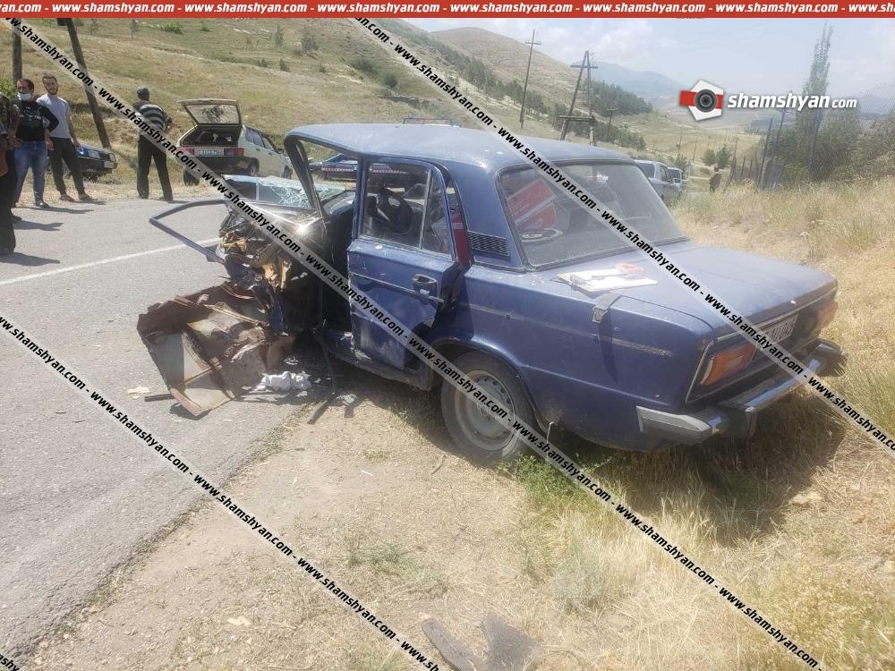 Photo of Ավտովթար Սյունիքի մարզում. բախվել են Opel Vectra եւ ՎԱԶ-2106 մակնիշի ավտոմեքենաները. կա վիրավոր