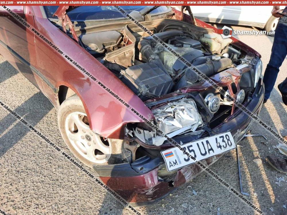 Photo of Ավտովթար Գյումրիում. բախվել են Mercedes-ն ու ՎԱԶ 2106-ը. կա վիրավոր