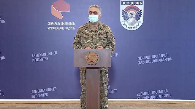 Photo of Представитель Минобороны Армении: Противник избрал новую тактику боя – максимум пехоты