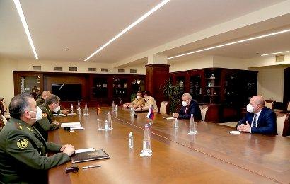Photo of ՀՀ ԶՈՒ գլխավոր շտաբում հանդիպում է տեղի ունեցել
