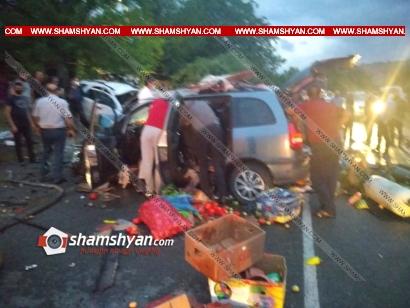 Photo of Խոշոր ավտովթար Վայոց ձորի մարզում. ճակատ-ճակատի բախվել են Kia-ն ու Opel-ը, 4 վիրավորներից 2-ը ծայրահեղ ծանր վիճակում են