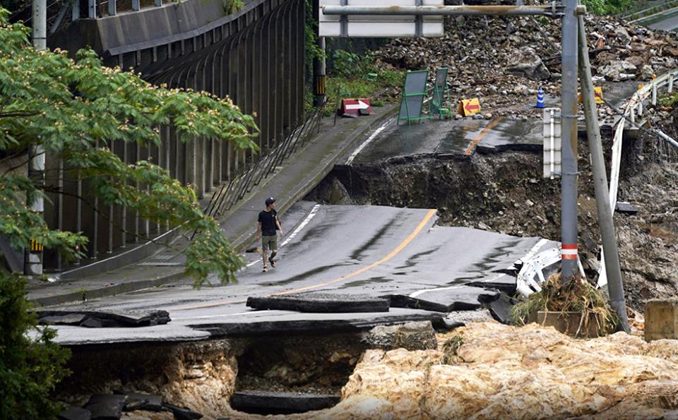 Photo of Последствия наводнения в Японии