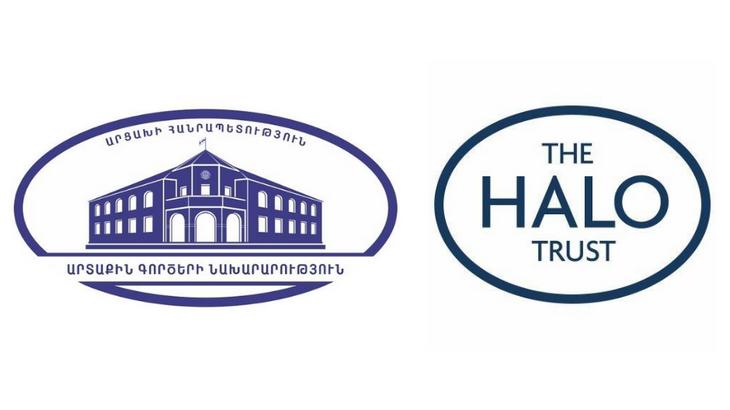 Photo of Министр иностранных дел Республики Арцах Масис Маилян принял делегацию  международной неправительственной организации The HALO Trust