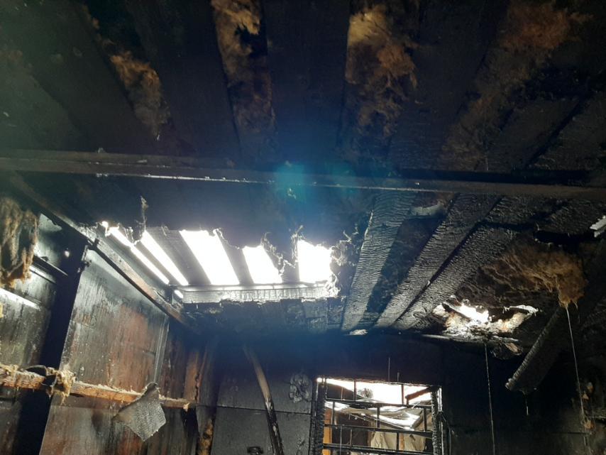 Photo of Գյումրիում այրվել է Արցախ թաղամասի բնակելի տնակներից մեկը